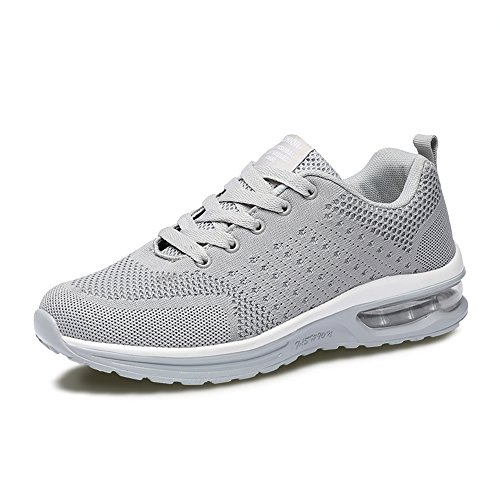 de Outdoor Multisports Femme Chaussures Sneakers athlétique Course Baskets Fitness Chaussures Sports 5066 Homme Grey de Gym ETCfqwE
