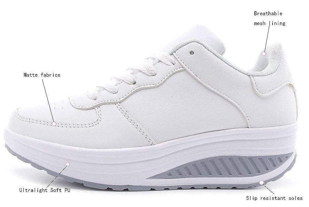 Zapatillas de Mujer adelgazantes y Resistentes al Calor Size 37 EU Glutei Benessere
