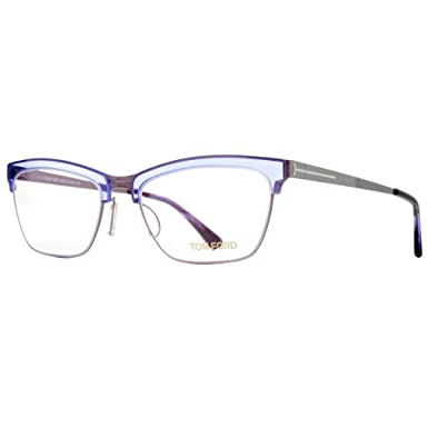 3de7e157bdc Image Unavailable. Image not available for. Color  Tom Ford Rx Eyeglasses - FT  5392 080 - Matte Ruthenium Lilac (54 18