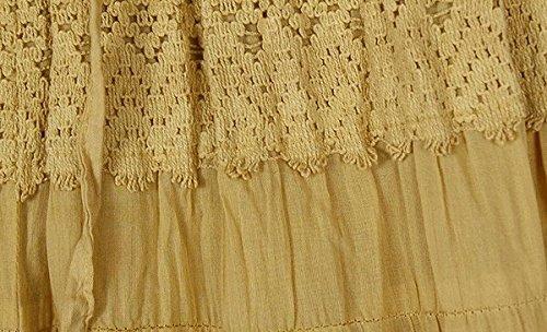 36 4163 26-36; L Gaucho Split Skirt in Twine TLB W