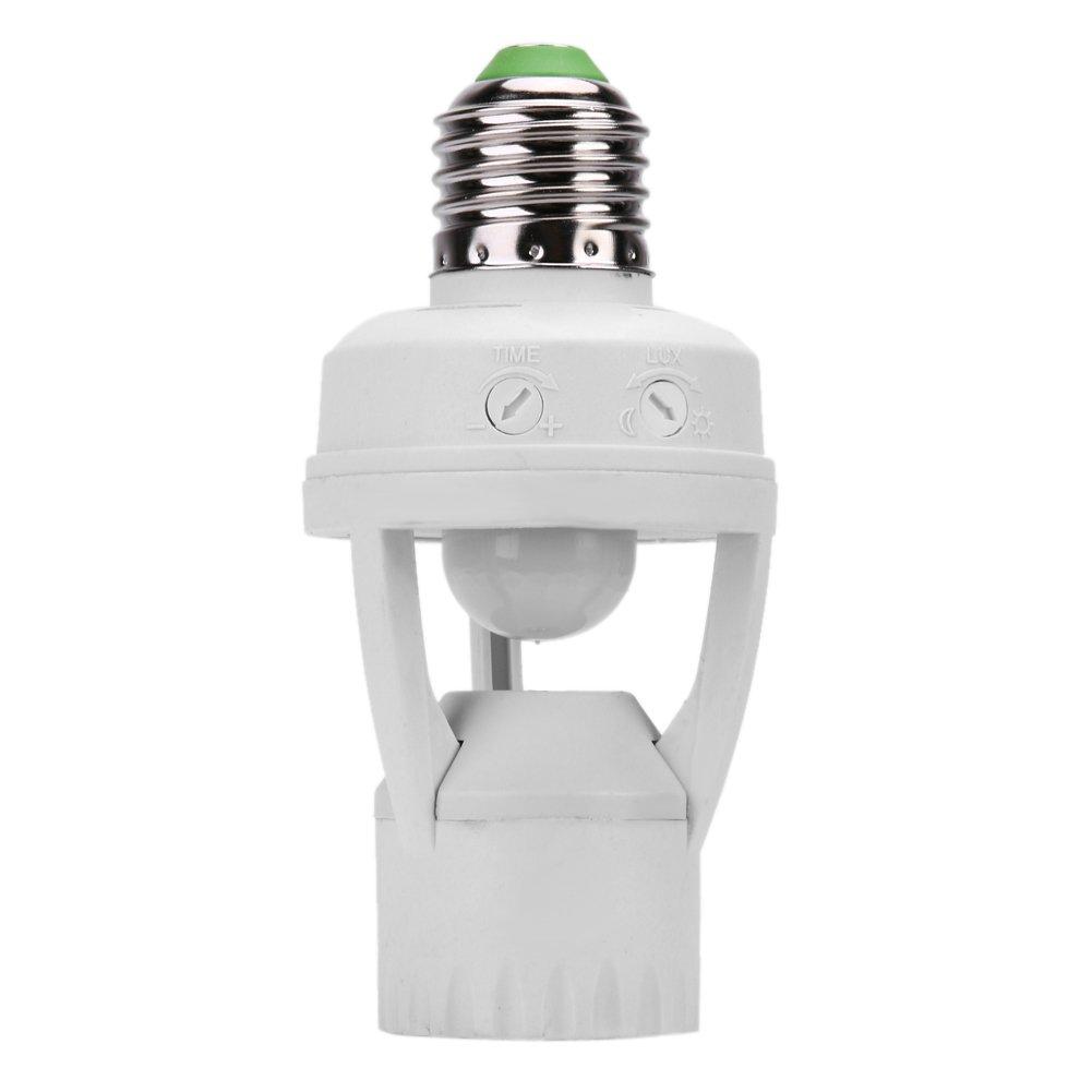 Domybest Casquillos de lámpara LED con Sensor de Movimiento para lámparas LED: Amazon.es: Electrónica