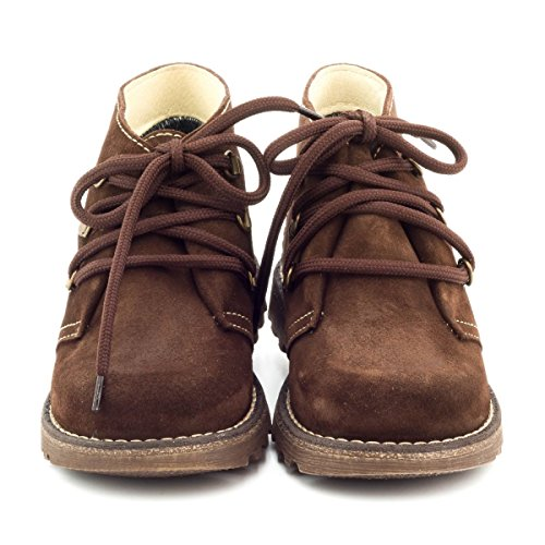 Boni Classic Shoes - Zapatillas de estar por casa de ante para niña marrón - Daim Marron