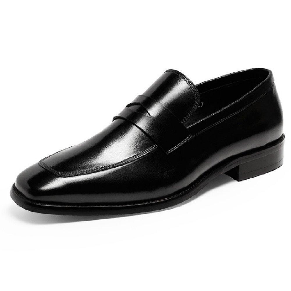 YCGCM Männer Lederschuhe Geschäft Geschäft Geschäft Klassisch Faule Schuhe Bequem Atmungsaktiv dd9445