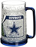Dallas Cowboys 16oz Crystal Freezer Mug