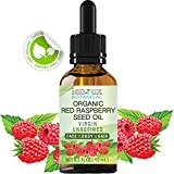 RED RASPBERRY SEED OIL ORGANIC. 100 % PURE VIRGIN UNREFINED COLD PRESSED . For Skin, Hair, Lip and Nail Care