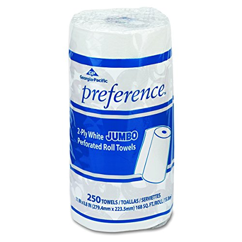 Georgia Pacific Professional 27700 Perforated Paper Towel, 8 4/5 x 11, White, 250 Per Roll (Case of 12 Rolls)