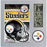 Wincraft Pittsburgh Steelers Desk Clock