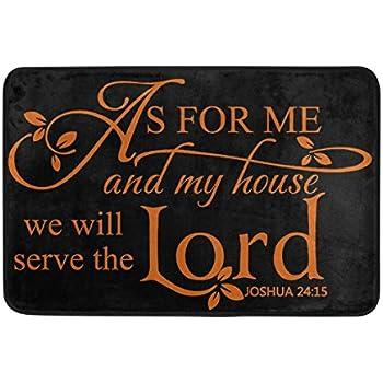 Amazon Com Custom Christian Bible Verse Welcome Door Mat