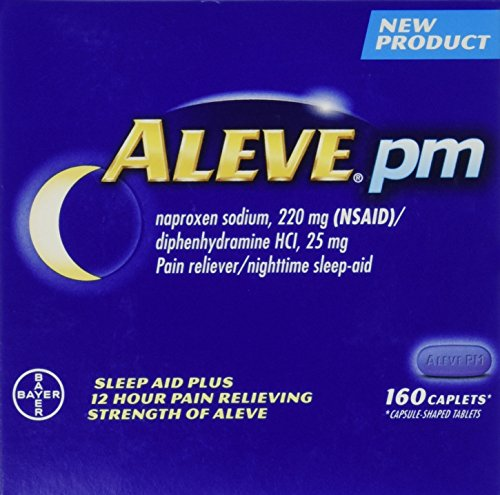 Naproxen Diphenhydramine Nighttime Sleep Aid Contains product image