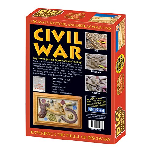 Kristal Educational Dig! Discover Civil War