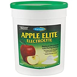 FARNAM 81110 Apple Elite Electrolyte Pet Supplement, 5-Pound