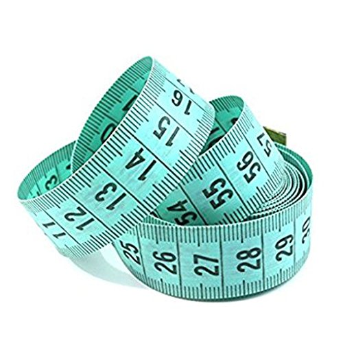 "150cm / 60"" Body règle de mesure de couture sur mesure Ruban à mesurer souple plat Regard Natral"