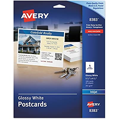 avery-8383-photo-quality-glossy-postcards