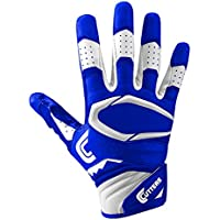 Cutters Receiver Football Gloves - Rev Pro Football Gloves - Made with Grip Boost and High Quality Stitching - Youth & Adult Sizes