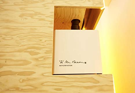 Mr Beam Air Filter | Air Filtro para aspiración el Mr Beam Desktop ...