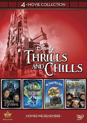 Disney Channel Halloween Movie Times (Disney 4-Movie Collection: Thrills and Chills (Haunted Mansion, Tower Of Terror, Mr. Toad's Wild Ride, Country)