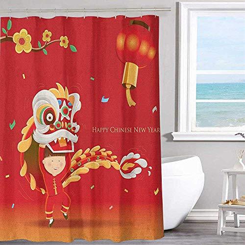 MKOK Home Decoration Shower Curtain 72