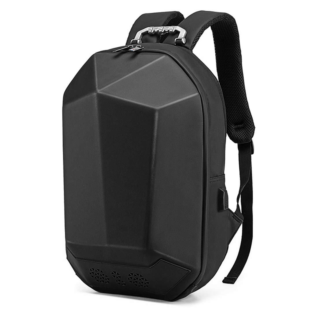 Bluetooth音楽バックパックステレオバックパック防水性の学生用バッグスマート充電用のカレッジバッグ旅行用  Black B07M9BMWSC