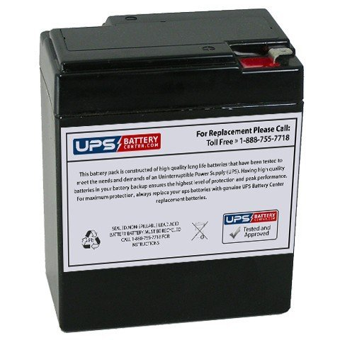 6V 8.5Ah F1 - UPSBatteryCenter battery replacement for Sure-Lites PHCH1, PHCH-1 (Phch)