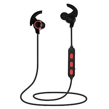 Lxj Auricular Bluetooth Deportes Auricular estéreo de la Cinta magnética Cuerno pequeño Auricular inalámbrico teléfono Bluetooth Universal: Amazon.es: ...