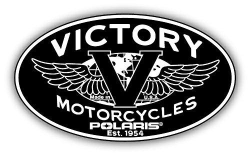Victory Motorcycles Polaris Car Bumper Sticker Decal 14