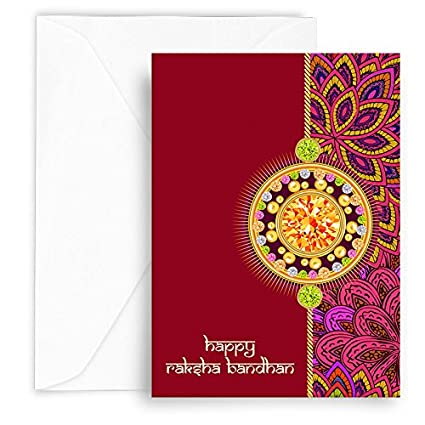 Kaarti raksha bandhan greeting card sk0439 amazon office products kaarti raksha bandhan greeting card sk0439 m4hsunfo