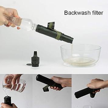 Filtro De Agua Portátil Personal, Membrana De Ultrafiltración ...