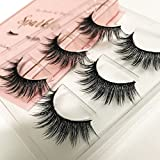 lashes The Book of Lashes Volume 2: Sparkle - Reusable False Eyelashes - Cruelty Free - 3 Pairs