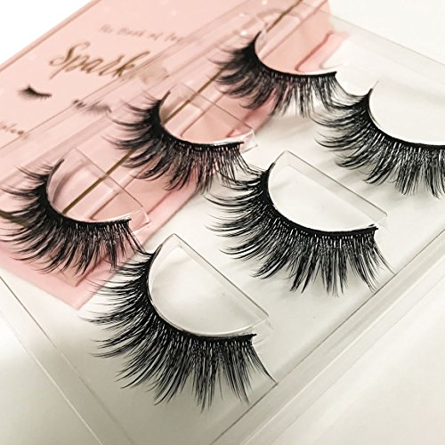 The Book of Lashes Volume 2: Sparkle - Reusable False Eyelashes - Cruelty Free - 3 ()
