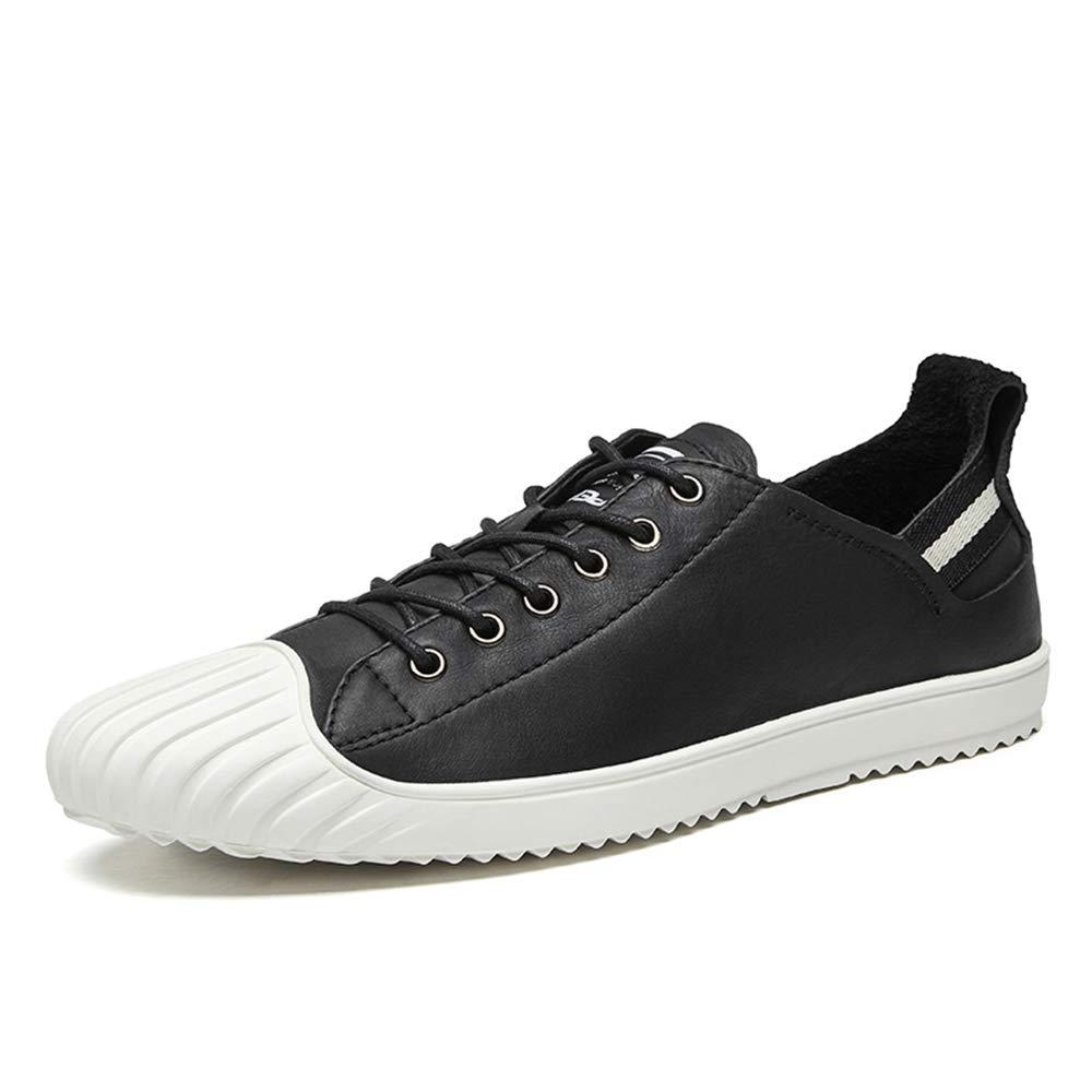 HPLL Schuh Herren-Skate-Schuhe, lässige Low-Top-Turnschuhe, Stiefelschuhe, Wanderschuhe, schwarzer Herbst Herbst Herbst 38-44 08716c