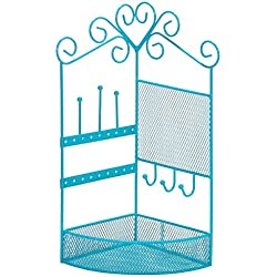 3C4G Corner Storage & Jewelry Holder - Blue
