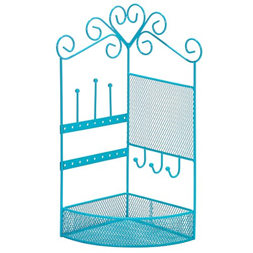3C4G Corner Storage & Jewelry Holder - Blue