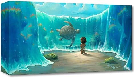 Disney Fine Art Moana's New Friend