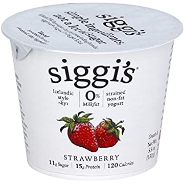 reliable Siggis Strained Non-Fat Yogurt