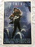 ''ALIENS'' 1986 ORIGINAL MOVIE POSTER FIRST ISSUE 27X41 WEAVER BIEHN