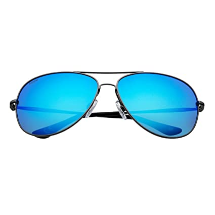 5beff28bb Amazon.com : Zippo Pilot Style Sunglasses : Sports & Outdoors
