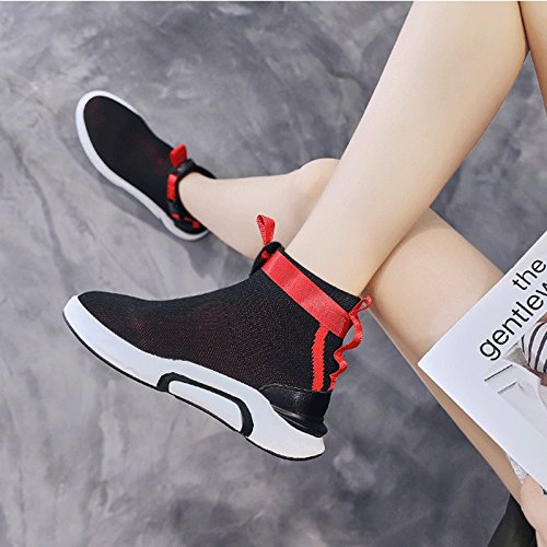 LIUXUEPIN Frühlings- und Sommermodelle Frau Sportschuhe Neuer Studenten Stil Wild Koreanische Version Studenten Neuer Damenschuhe Hongkong Atmungsaktiv Kleine Weiße Schuhe des Superfeuers affe78