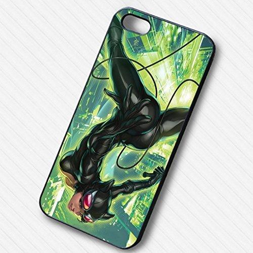 Catwoman Comic -tr Coque Iphone 6 et Coque Iphone 6s Case (Noir Boîtier en plastique dur) S2H6HX