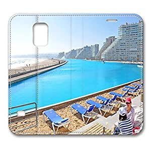 Samsung S5 case,Fashion Leather Galaxy S5 case Design for Samsung Galaxy s5 With San Alfonso del Mar Resort Chile
