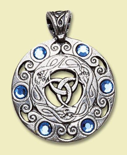 Juwelen des Mondes Keltischer Anhänger Amulett Talisman Schmuck - Hellsichtigkeit und psychische Fähigkeiten