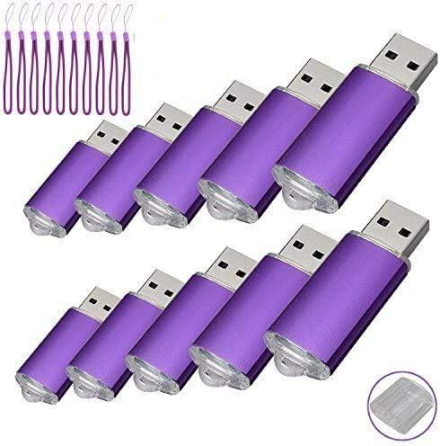 TALLA 128MB. Paquete con 10memorias USB. Pen Drive USB 2.0 (128.0MB)