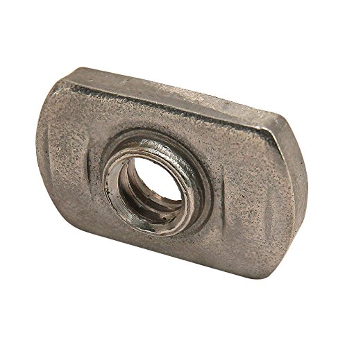 - 80/20 Inc, 3686, 15 Series, Stainless Steel Slide-in Economy T-Nut 1/4-20 (25 Pack)