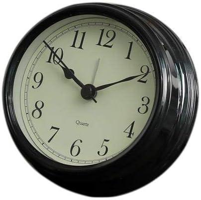 4 cm 11 Topdo 1pcs r/étro Matin r/éveil pour Enfants /étudiant Adolescent Adulte Silencieux Table de Chevet r/éveil Classique sans Horloge tic-tac pour Bureau de Voyage Bureau de Sommeil 11