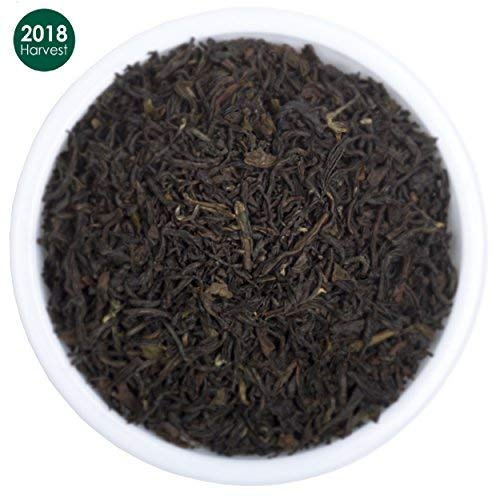 Premium Black Loose Leaf Darjeeling Tea | Pure, 2018 Prime Second Flush with Powerful Antioxidants | Brews the Perfect Probiotic Kombucha| Fillers, Gluten Free|Make 50 Cups (3.53 Ounces) -
