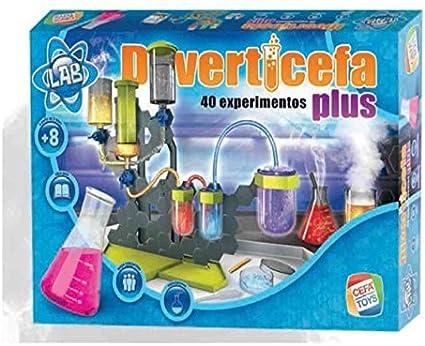Cefa Toys Juego DIVERTICEFA Plus 40 INCREIBLES EXPERIMENTOS: Amazon.es: Juguetes y juegos