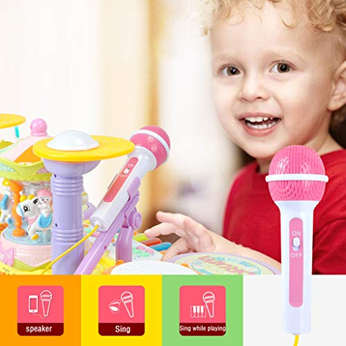 Multifunctional Electronic Piano Carousel High Fidelity Microphone Music Piano Listen To Your Baby Or Child's Voice Anytime, Anywhere The Best Gift For Your Children On Chilfren's Day by YOCrazy-US Direct (Image #8)