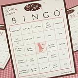 Bridal Shower Bingo - Gift Bingo Edition - 50 Players