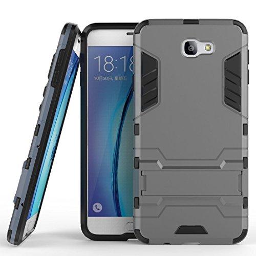 Funda para Samsung Galaxy J5 Prime / On5 2016 (5 Pulgadas) 2 en 1 Híbrida Rugged Armor Case Choque Absorción Protección...
