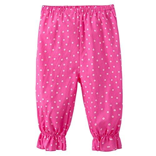 Garment Cotton Ultimate (Kids Trousers,Leegor Girls Floral Printing Loose Casual Pants Leggings 2-7Y (3T, Hot Pink))
