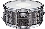 Dixon Gregg Bissonette Hammered Brass Signature Snare Drum 14 x 6.5 in.